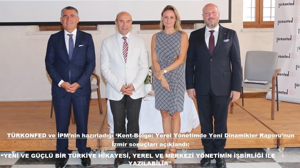 Yeni ve Güçlü Bir Türkiye Hikayesi Yerel ve Merkezi Yönetimin İşbirliği ile Yazılabilir