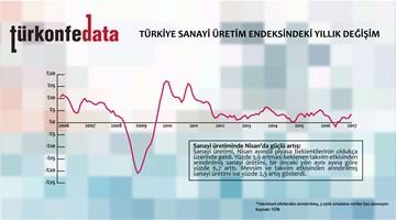 Türkiye Sanayi Üretim Endeksindeki Yıllık Değişim