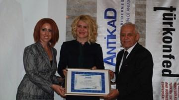 Antalya İş Kadınları Derneği ANTİKAD Toplantısı Ocak 2015
