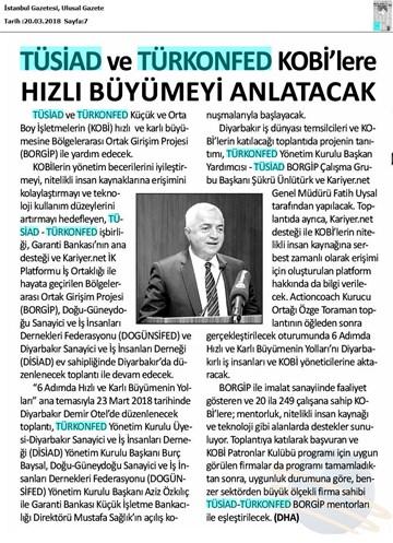 BORGİP Diyarbakır Toplantısı Medya Yansımaları 23 Mart 2018  Diyarbakır