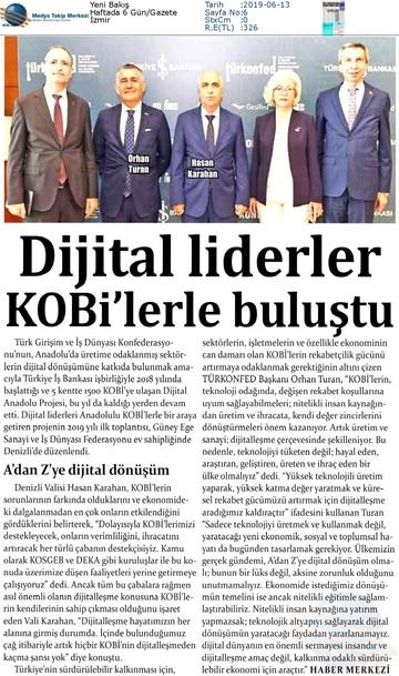 Dijital Anadolu Toplantısı Medya Yansımaları 11 Haziran 2019  Denizli
