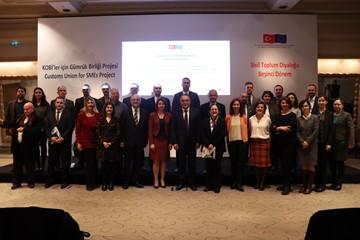 KOBİler için Gümrük Birliği Kapanış Toplantısı - 16 Ocak 2020  İstanbul