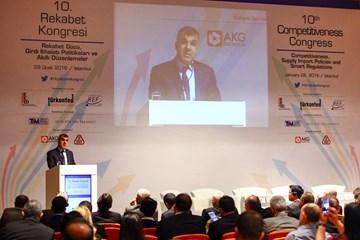Türk İş Dünyası Rekabet Kongresinde Buluştu