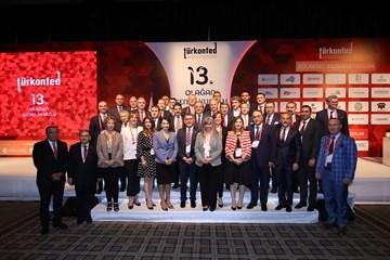 TÜRKONFED 13 Olağan Genel Kurulu 12 Mayıs 2018  İstanbul