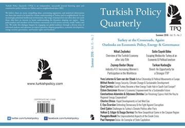 TÜRKONFED Başkanı Kadooğlunun TPQ Dergisi Brexit ve TTIP Makalesi  Summer 2016