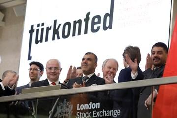 TÜRKONFED-ELITE Programı Türkiyenin Yükselen Liderleri Raporu Londra Borsası Tanıtımı  12 Aralık 2017-Londra