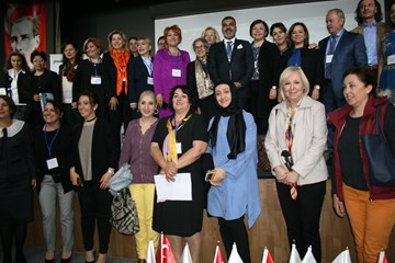 TÜRKONFED İDK Kadının Çok Yönlü Güçlendirilmesi Projesi - Kayseri Toplantısı   6 Nisan 2017