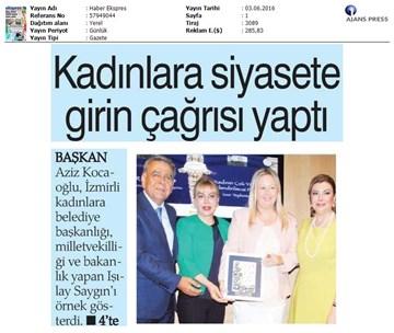 TÜRKONFED İDK Komisyonu Kadının Çok Yönlü Güçlendirilmesi Projesi - İzmir
