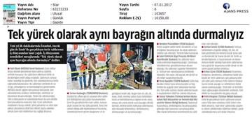 TÜRKONFED-İzmir Terör Saldırısı Kınama Mesajı Medya Yansımaları-07012017