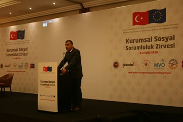 TÜRKONFED KSS Zirvesi  1 Eylül 2016 - İstanbul