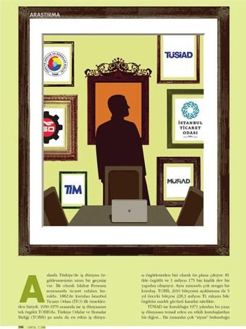 TÜRKONFED Türkiyenin en büyük 5 iş dünyası örgütü oldu
