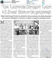 Bodrum Turizm 4.0 Zirvesi & Didim Ekonomi Gala Yemeği Medya Yansımaları / 8 Eylül 2018