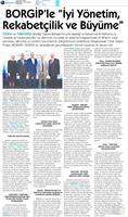 BORGİP Denizli Toplantısı Medya Yansımaları 13 Nisan 2018 / Denizli