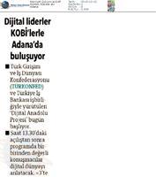 Dijital Anadolu Toplantısı 13 Aralık / Adana