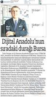 Dijital Anadolu Toplantısı 13 Kasım / Bursa
