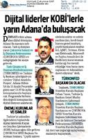 Dijital Anadolu Toplantısı Medya Yansımaları 13 Aralık 2018 / Adana