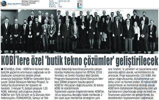 Dijital Dönüşüm Merkezi Tanıtım Toplantısı Medya Yansımaları -26 Şubat 2019 / İstanbul