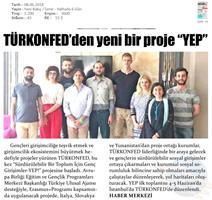Sürdürülebilir Bir Toplum İçin Genç Girişimciler - YEP Projesi Basın Yansımaları 8 Haziran 2018 / İstanbul