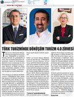 Türk Turizminde Dönüşüm: Turizm 4.0 Zirvesi Medya Yansımaları / 4 Eylül 2018