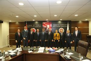 TÜRKONFED Ankara Temasları 2016