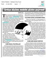TÜRKONFED  Başkanı Orhan Turan Ekonomi Değerlendirmesi 1