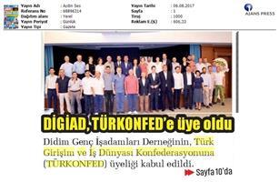 TÜRKONFED-Didim GİAD Toplantısı Medya Yansımaları / Didim-6 Ağustos 2017