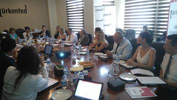 TÜRKONFED Genel Sekreterler Koordinasyon Toplantısı 2-28/29 Temmuz 2016 İSTANBUL
