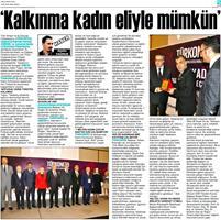 TÜRKONFED İDK - GİŞKAD Kadının Çok Yönlü Güçlendirilmesi Projesi Mersin Toplantısı Basın Yansımaları / 25 Ocak 2018