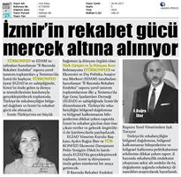 TÜRKONFED-İzmir Rekabet Endeksi Toplantısı / Ön Basın Yansımaları-30 Haziran 2017