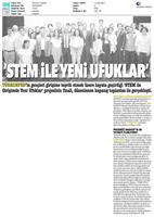 TÜRKONFED STEM ile Yeni Ufuklar Projesi Kapanış Toplantısı Medya Yansımaları / 9 Ağustos 2017