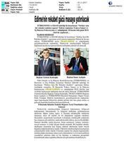 TÜRKONFED-TRAKYASİFED Edirne Rekabet Endeksi Toplantısı Medya yansımaları / 28 Kasım 2017