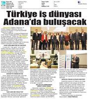 TÜRKONFED ve TÜSİAD BORGİP Adana Toplantısı Ön Medya Yansımaları / 30 Kasım 2017