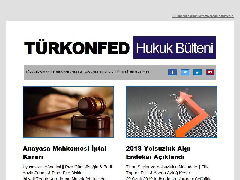 Hukuk Bülteni Mart  2019